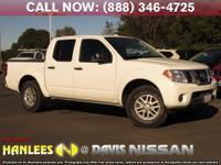Options:  2016 Nissan Frontier Sv|White|Check Out This