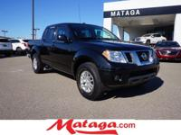 2016 Nissan Frontier SV in Magnetic Black with Graphite