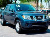 Options:  2016 Nissan Frontier Sv|Arctic Blue