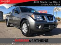 Check out this 2016 Nissan Frontier SV. Its Automatic
