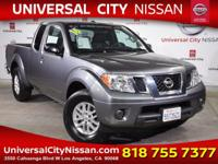 Clean CARFAX. Certified. Gray 2016 Nissan Frontier SV