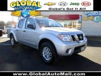 Only 11,025 miles on this 2016 Nissan Frontier Crew