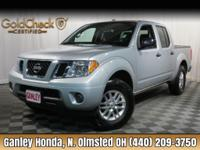 2016 Nissan Frontier SV 4WD CLEAN CARFAX ONE OWNER,