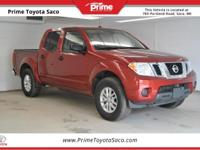 CARFAX One-Owner! 2016 Nissan Frontier SV in Lava Red,