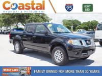 This 2016 Nissan Frontier SV in Black features: 4WD