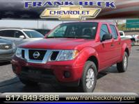 Options:  2016 Nissan Frontier Sv|4X4 Sv 4Dr Crew Cab 5