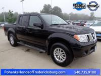 This 2016 Frontier is a one owner vehicle with a clean
