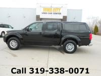 Magnetic Black 2016 Nissan Frontier SV 4WD 5-Speed