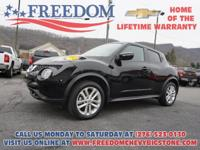 Recent Arrival! Juke AWD Super Black *CLEAN VEHICLE