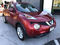 Clean CARFAX One Owner. All Wheel Drive Nissan Juke SV.