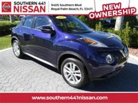 Certified. CARFAX One-Owner. 2016 Nissan Juke S S AWD,