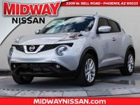 2016 Nissan Juke SL AWD. 31/26 Highway/City MPG