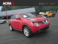 2016 Nissan JUKE, key features include:  Automatic