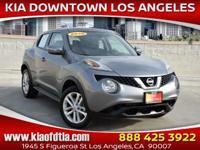 CARFAX One-Owner. Clean CARFAX. Gray 2016 Nissan Juke S