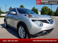 This Juke is Nissan Certified Pre-Owned and, It's a