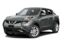 Introducing the 2016 Nissan Juke! It delivers style and