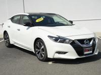 CARFAX One-Owner. Clean CARFAX. Pearl White 2016 Nissan