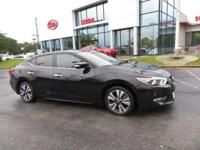 Super Black 2016 4D Sedan Nissan Priced below KBB Fair