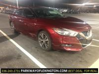 Coulis Red 2016 Nissan Maxima 3.5 S FWD ABS brakes,