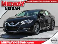 2016 Nissan Maxima Platinum 30/22 Highway/City