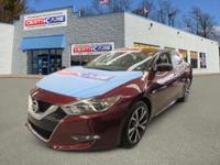 This 2016 Nissan offered at Certicare  Huntington.  The