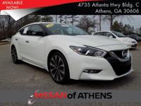Check out this 2016 Nissan Maxima 3.5 SR. Its Variable