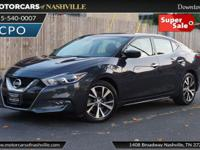 This 2016 Nissan Maxima 4dr 4dr Sedan 3.5 S features a
