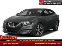 This Maxima is Nissan Certified Pre-Owned|Still Under