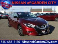 Land a bargain on this 2016 Nissan Maxima before it's