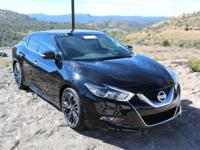 Maxima Platinum and Charcoal Leather. Nissan FEVER!