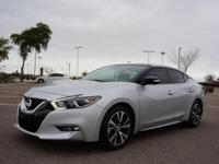 6 Cylinder  Options:  Cvt|This 2016 Nissan Maxima
