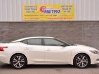 2016 Nissan Maxima Platinum  in Pearl White, CLEAN