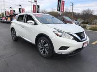 2016 Nissan Murano Platinum CARFAX One-Owner.Certified.