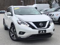 2016 Nissan Murano Platinum Pearl White Rear Back Up