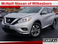 You'll love the way you feel in our 2016 Nissan Murano