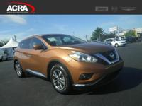 2016 Nissan Murano, key features include:  Satellite