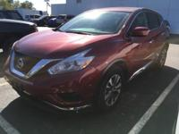 Carfax One-Owner. Clean CARFAX 2016 Nissan Murano S in