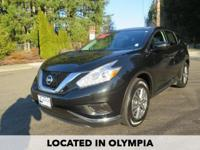 Just Reduced! 2016 Nissan Murano S CARFAX One-Owner.