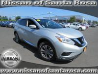 Options:  2016 Nissan Murano Fwd 4Dr S|Certified