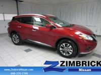 Options:  2016 Nissan Murano Fwd 4Dr Sl|4-Wheel