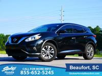 2016 Nissan Murano in Black. CVT with Xtronic. Ride the
