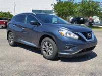 CARFAX One-Owner. Clean CARFAX. Blue 2016 Nissan Murano