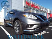 2016 Nissan Murano SL CVT with Xtronic, AWD,