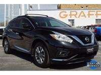 CARFAX One-Owner. Clean CARFAX. 2016 Nissan Murano FWD
