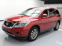 This awesome 2016 Nissan Pathfinder 4x4 comes loaded