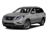 Pathfinder 4wd Platinum w/Family Entertainment Package.