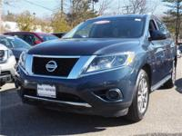 This 2016 Nissan Pathfinder Platinum is proudly offered