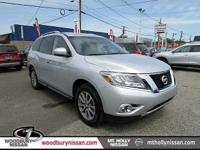 4WD. There's no substitute for a Nissan! The SUV you've