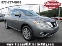 Look at this 2016 Nissan Pathfinder S. Its Variable