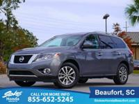 CARFAX One-Owner. Gun Metallic 2016 Nissan Pathfinder